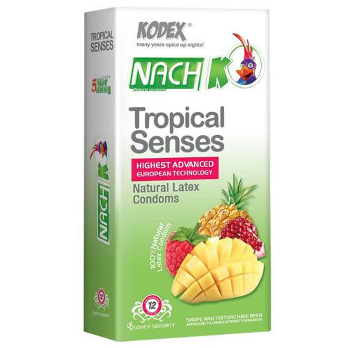 کاندوم حس گرمسیری NACH KODEX Tropical senses