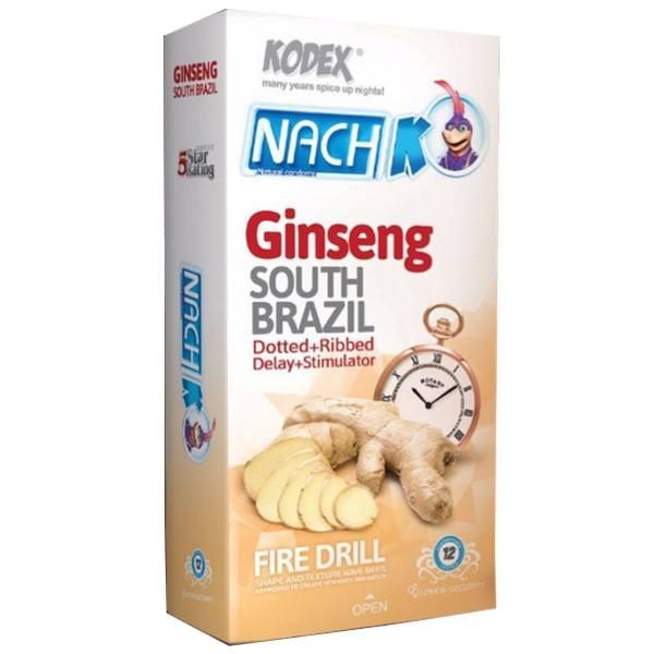 کاندوم تاخیری جینسینگ NACH KODEX GINSENG